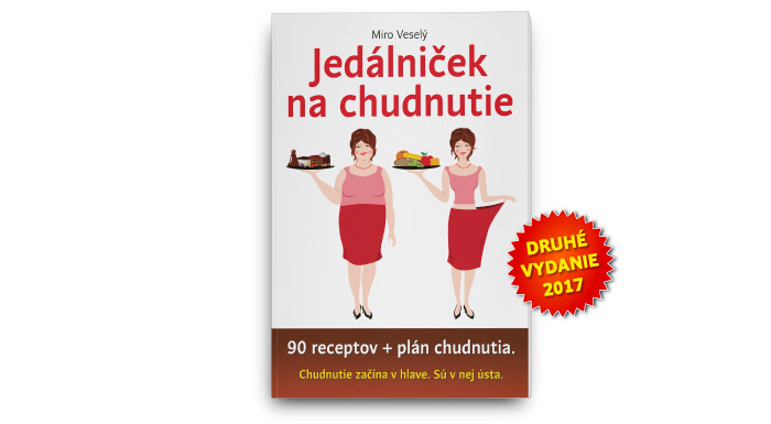 Kniha Jedálniček na chudnutie, napísal Miro Veselý