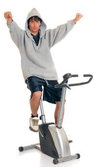 Veľmi časté je, že ak niekto má nadváhu, nerád cvičí. nielen
