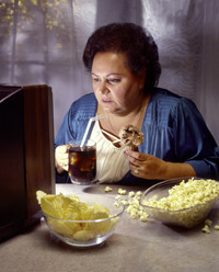 Chudnutie, obezita - ilustrácia