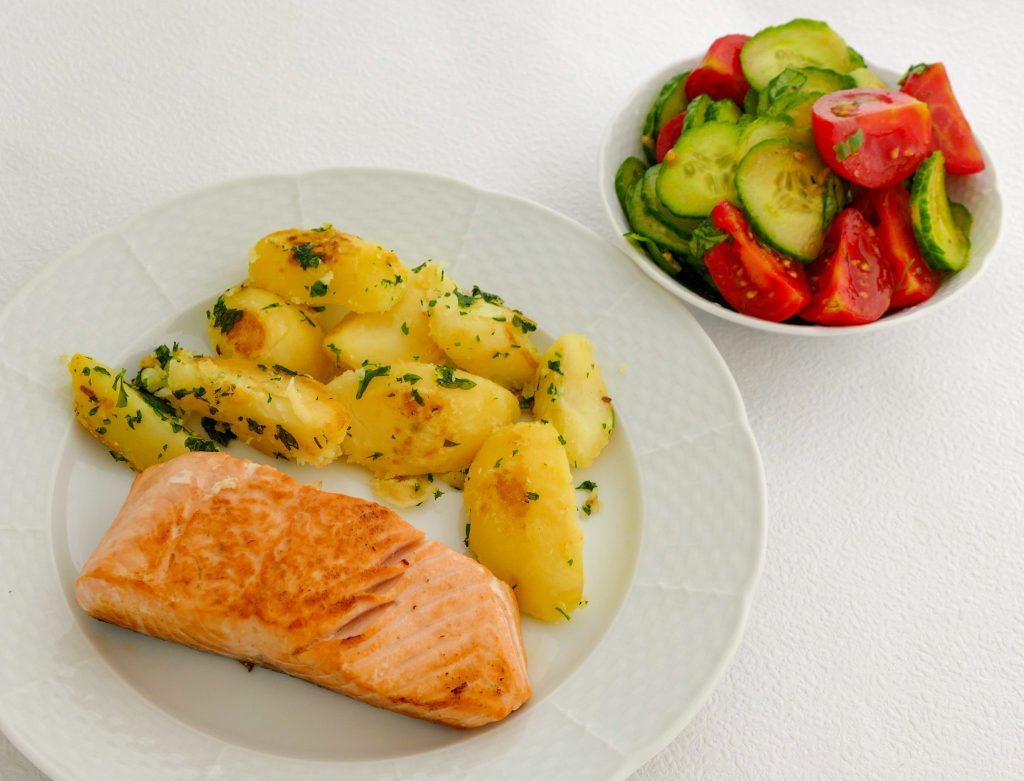 Zdravá výživa - príklad jedla.