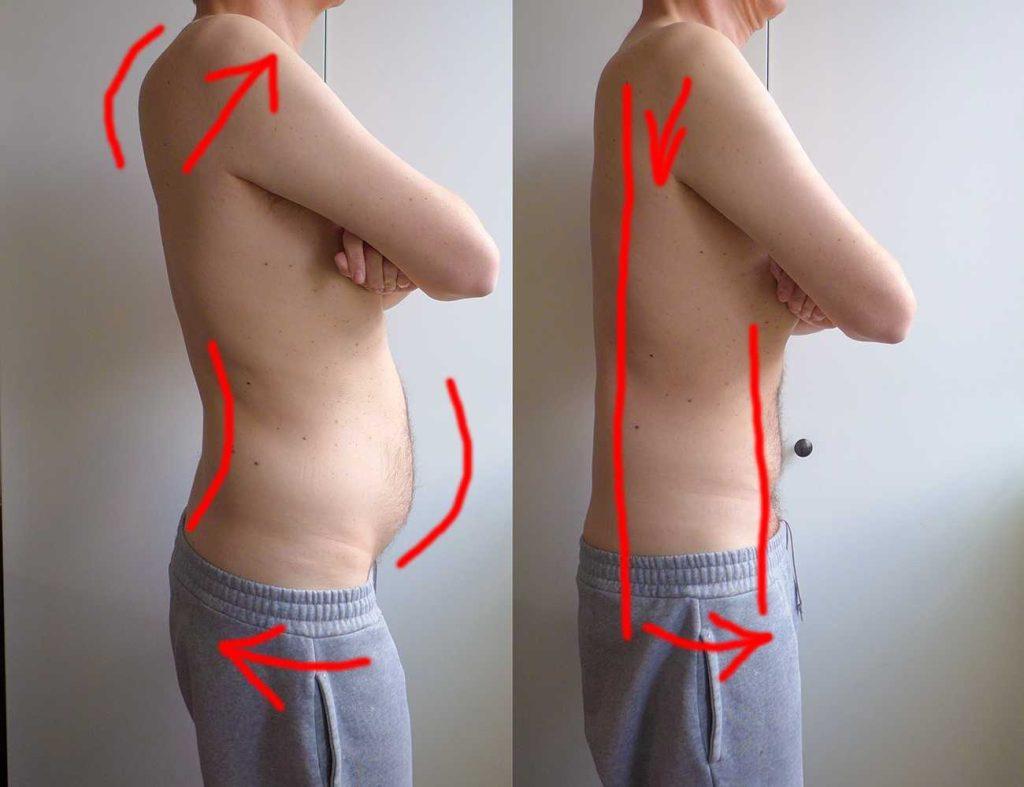 Cviky na brucho a chrbtica
