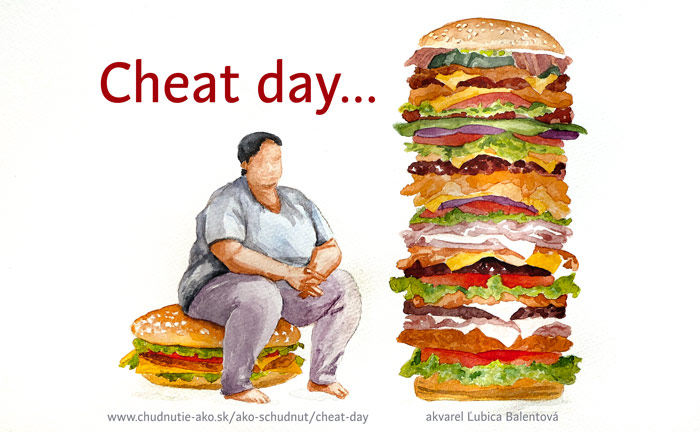 Cheat day - podvádzací deň