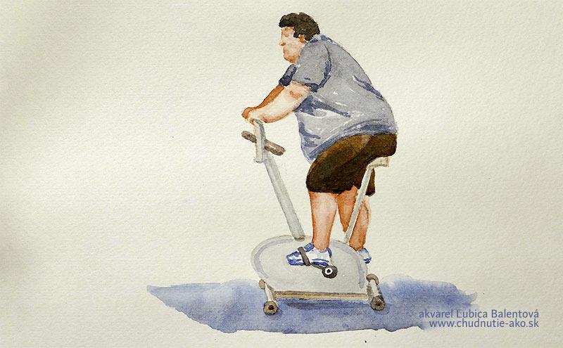Chudnutie a pohyb - stacionárny bicykel