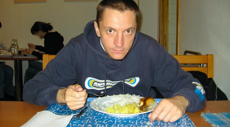 Miro Veselý, 2006. Nevhodné jedlo v jedálni