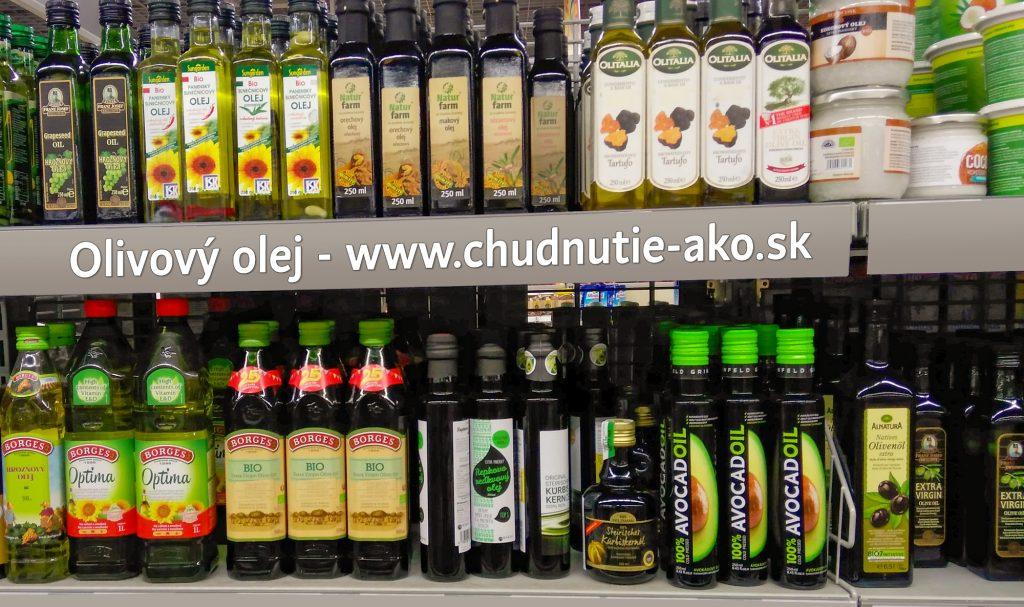 Olivový olej v hypermarketoch